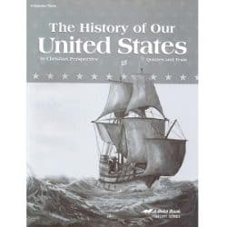 The History of Our United States Quizzes and Tests - Abeka Grade 4