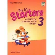 Cambridge English Pre A1 Starters 3 Student's Book 2019