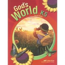 God's World - Abeka K5 Fourth Edition Science Health Series