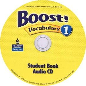 Boost! 1 Vocabulary Audio CD