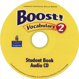 Boost! 2 Vocabulary Audio CD