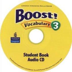 Boost! 3 Vocabulary Audio CD