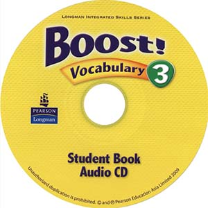 Boost! 3 Vocabulary Audio CD