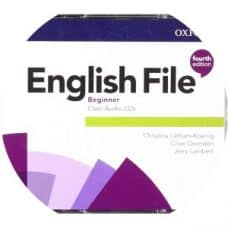 English File 4th Edition Beginner Class Audio CD