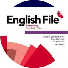 English File 4th Edition Elementary Class Audio CD