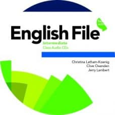 English File 4th Edition Intermediate Class Audio CD