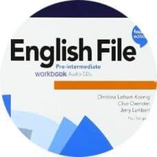 English File 4th Edition Pre-Intermediate Workbook Audio CD