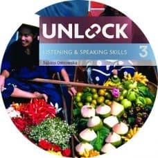 Unlock 3 Listening and Speaking Class Audio CD