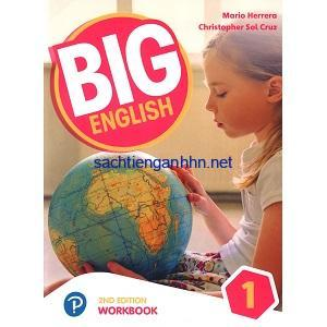 Big English 1 American Workbook 2nd