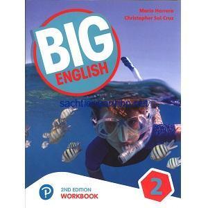 Big English 2 American Workbook 2nd